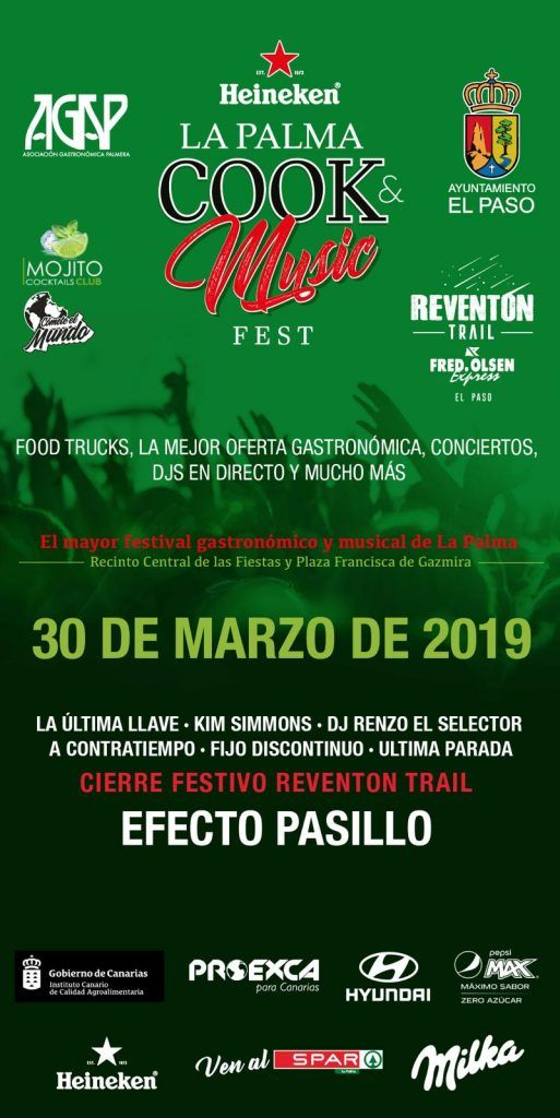 cartel evento cook music fest