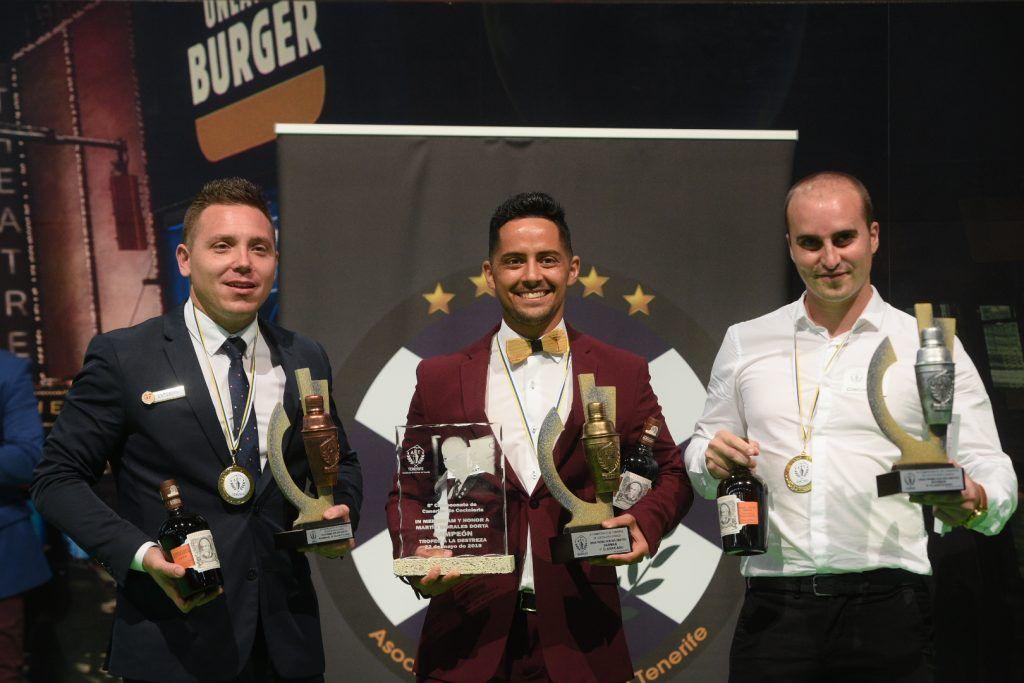 Ganadores del premio bartender